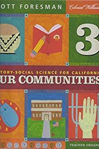 Download Teacher Organizer (History-Social Science for California: Our Communities, Grade 3) eBook