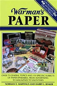 Download Warman's Paper (Encyclopedia of Antiques and Collectibles) eBook
