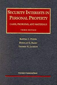 Download Security Interests in Personal Property: Cases, Problems, and Materials (University Casebook Series) eBook
