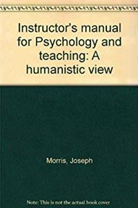 Download Instructor's manual for Psychology and teaching: A humanistic view eBook