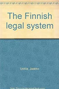 Download The Finnish legal system eBook