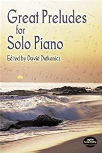 Download Great Preludes for Solo Piano (Dover Music for Piano) eBook