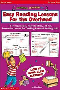 Download Easy Reading Lessons for The Overhead: 12 Transparencies, Reproducibles, and Fun, Interactive Lessons for Teaching Essential Reading Skills (Overhead Teaching Kit) eBook