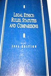 Download Legal Ethics : Rules, Statutes and Comparisons eBook