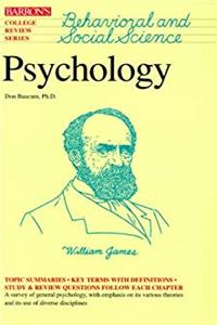 Download Psychology (Barron's College Review Series) eBook