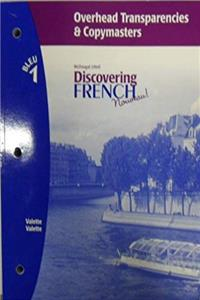 Download Discovering French, Nouveau!: Overhead Transparencies and Copymasters Levels 1A/1B/1 eBook