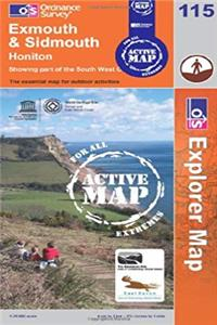 Download Exmouth and Sidmouth (Explorer Maps) eBook