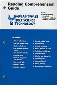 Download Holt Science and Technology North Carolina: Reading Comprehension Guide Grade 8 eBook