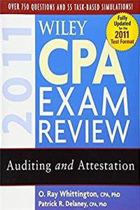 Download Wiley CPA Exam Review 2011, Auditing and Attestation (Wiley CPA Examination Review: Auditing & Attestation) eBook