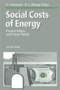 Download Social Costs of Energy: Present Status and Future Trends eBook