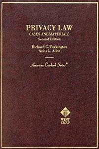 Download Privacy Law: Cases and Materials (American Casebook Series) eBook