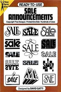 Download Ready-to-Use Sale Announcements (Dover Clip Art Ready-to-Use) eBook