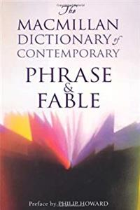 Download The Macmillan Dictionary of Contemporary Phrase & Fable eBook