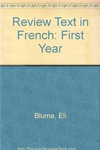 Download Review Text in French: First Year (French Edition) eBook