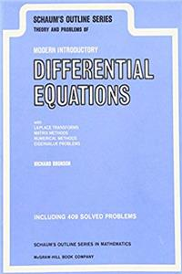 Download Schaum's Outline of Theory and Problems of Modern Introductory Differential Equations (Schaum's Outline Series) eBook