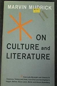 Download On Culture and Literature. eBook